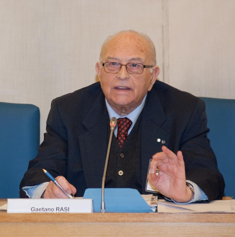 L'On. Prof. Gaetano Rasi