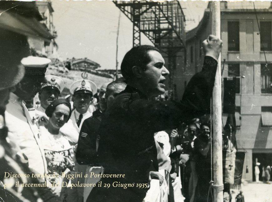 Discorso tenuto da biggini a Portovenere per il decennale del Dopolavoro il 29 Giugno 1935 foto2 copia